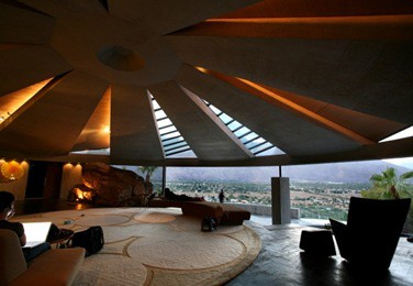 John lautner house architecture panoramic window