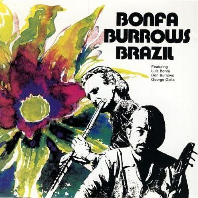 luis bonfa and burrows album cover