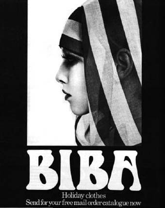 biba fashion brand mail catalogue