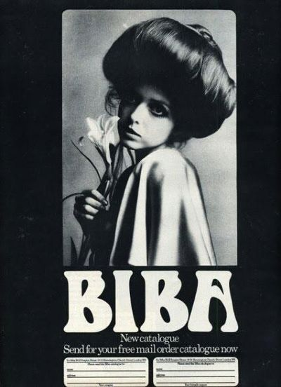 biba london 60s brand catalogue
