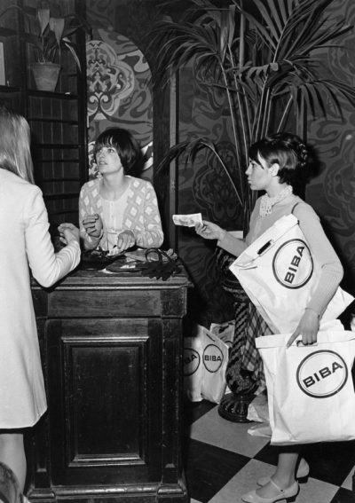 Mandatory Credit: Photo by Jon Lyons / Rex Features ( 13747r ) THE BIBA CLOTHING SHOP VARIOUS - 1966