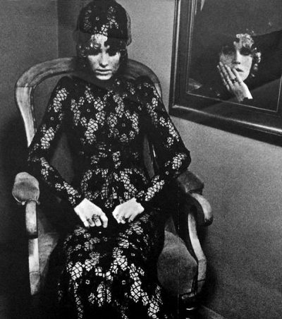 top model Sarah Moon Biba catalogue 1969