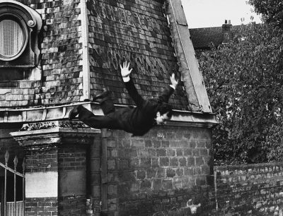 Yves Klein- Shunk- Kender Leap into the Void