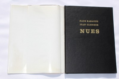 JEAN CLEMMER-paco rabanne canned candy nues book