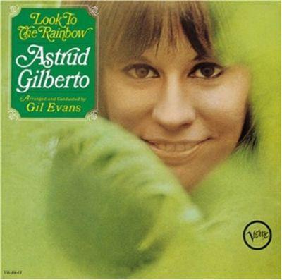 brasilian singer astrud gilberto album cover