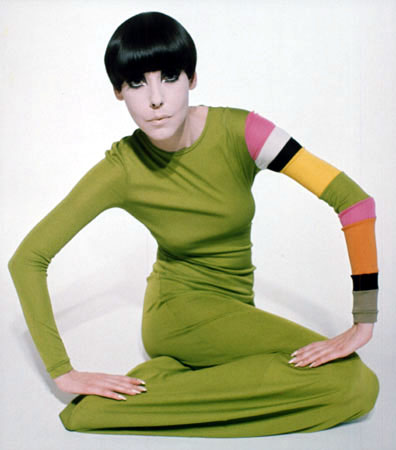 60s model peggy moffitt photographed by claxton