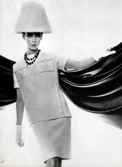 andre-courreges hat and dress