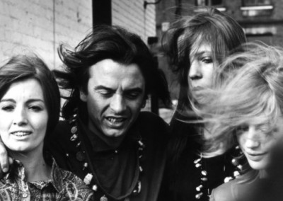David Bailey with Christine Keeler, Penelope Tree and Marianne Faithfull