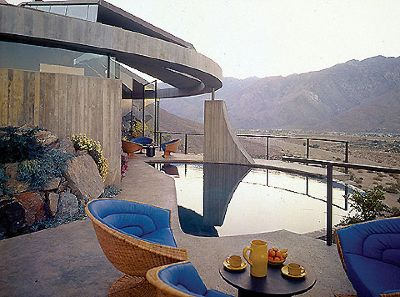 John lautner house architecture swiming pool