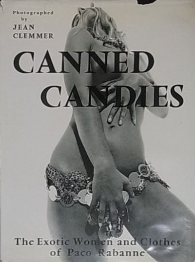 JEAN CLEMMER-paco rabanne canned candy  book cover