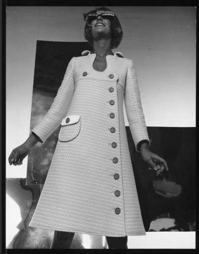 André Courrèges coat one pocket