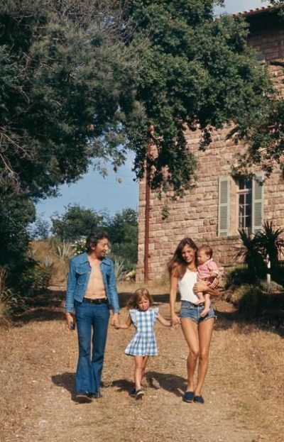 janebirkinSerge-KateCharlotte-SaintTropez-August1972