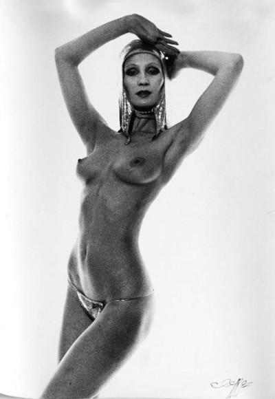 jean clemmer topless model posing