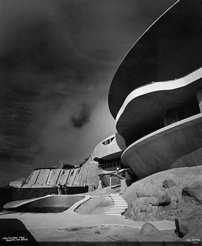 John lautner house architecture space era