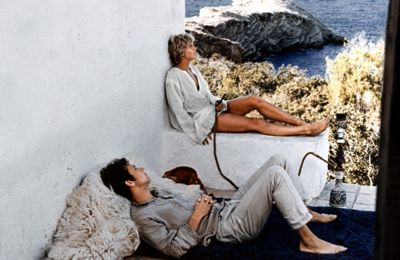 more 1969 smoking marihuana in a ibiza country house overlooking a cove