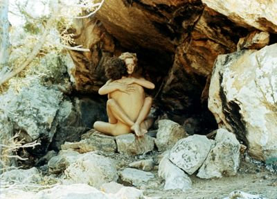 more1969 making love in a cave scene