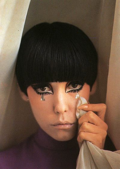 peggy moffit make up crying mimo