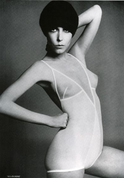 peggy-moffitt-fashion-model-60s- with white monokini