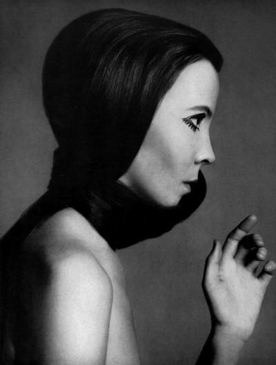 Penelope Tree, Richard Avedon, Vogue profile portrait