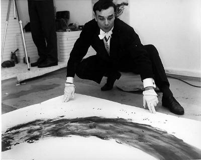 Yves Klein,Nouveau réalisme, Performance art, Minimal art,blue,formidable magazine,