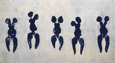 anthropometries by ives klein