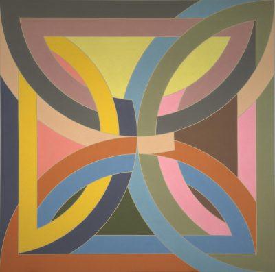 Frank Stella Abra Variation I 1969
