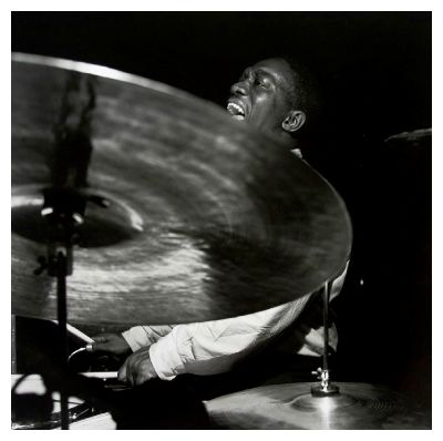 art blakey playing drums
