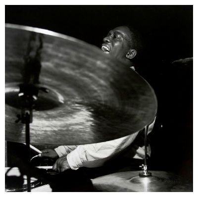 art blakey playing drums