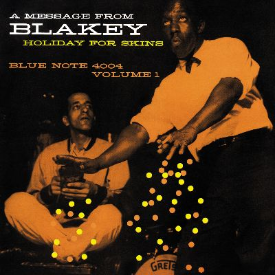 art blakey hollyday for skins album cover