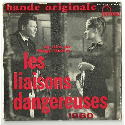 art balkey les liaisons dangerouses bande originale album cover
