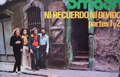 smash spanish psychedelic rock band with flamenco sitar single cover