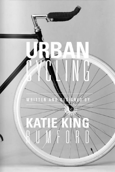 urban cycling book cover by katie king