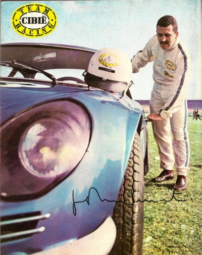 RENAULT ALPINE A110 cibie racing team
