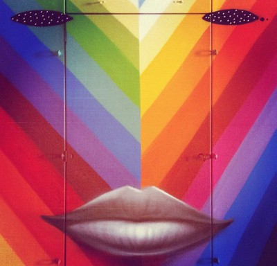 okuda artwork lip door