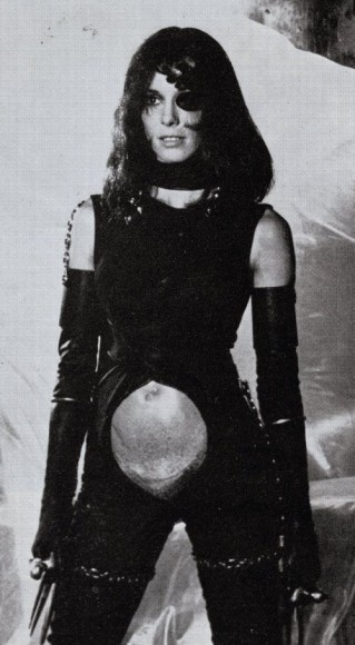 pallemberg as the Black Queen in the film Barbarella. 1968.