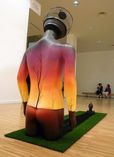 okuda sculpture and instalation