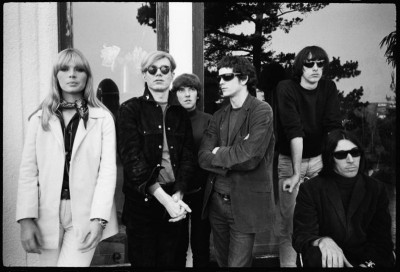 nico and the velvet underground wirh andy warhol john cale and lou reed