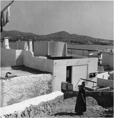 Erwin Broner house overlooking ibiza port