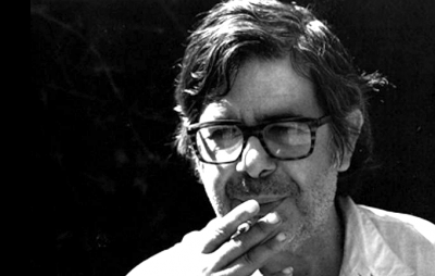 ibicenco artis Vicent Calbet smoking portrait
