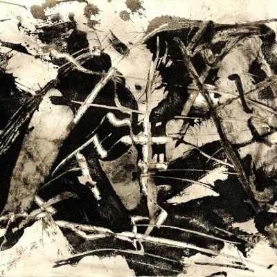 Emilio Vedova painting
