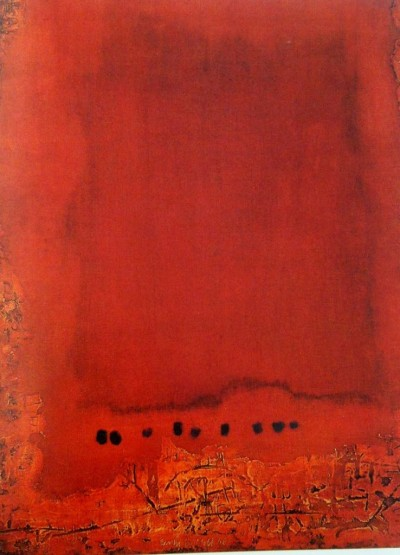 Erwin Bechtold red painting