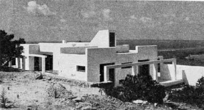 Erwin Broner architect ibiza house