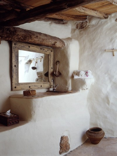 ibiza traditional house interior