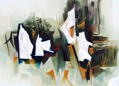 Katja Meirowsky abstract painting