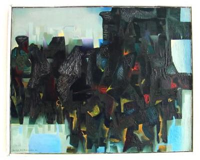 Katja Meirowsky painting
