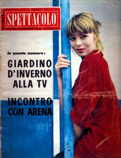 nico modeling years on spttacolo magazine cover
