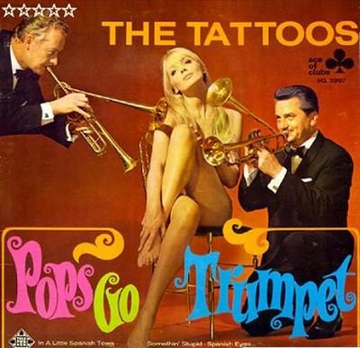 nico modeling for the tattoos album cover
