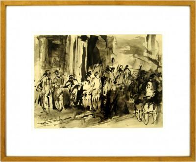 Antoni Marí Ribas Portmany framed painting