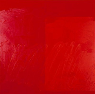 artist AD REINHARDT artwork red