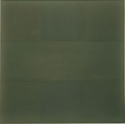 artist AD REINHARDT artwork green